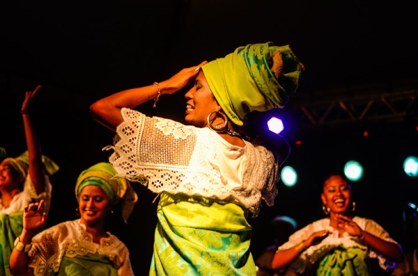 Canva - Woman Wearing Green and White Dress